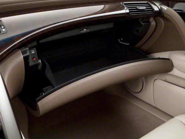 2011 Acura RL Pictures RL Sedan 4D AWD photos glove box