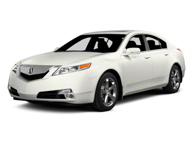 2011 Acura TL Prices and Values Sedan 4D Technology AWD side front view
