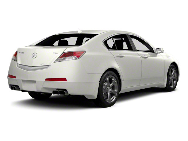2011 Acura TL Prices and Values Sedan 4D Technology AWD side rear view