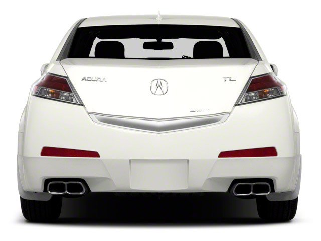 2011 Acura TL Prices and Values Sedan 4D Technology AWD rear view