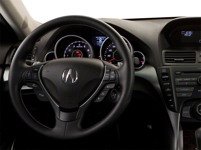 2011 Acura TL Prices and Values Sedan 4D Technology AWD driver's dashboard