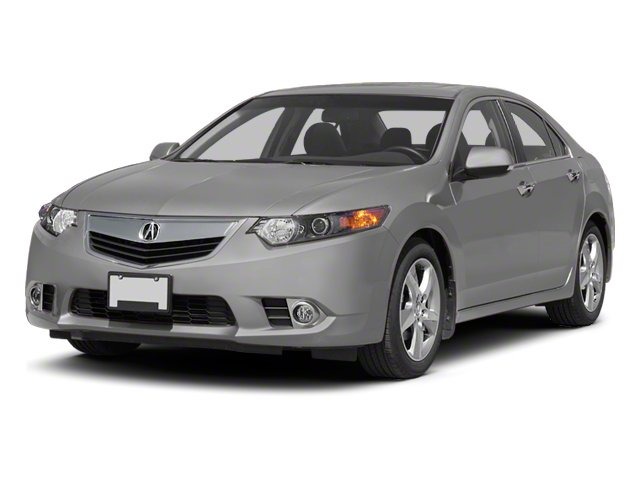 2011 Acura TSX Prices and Values Sedan 4D side front view