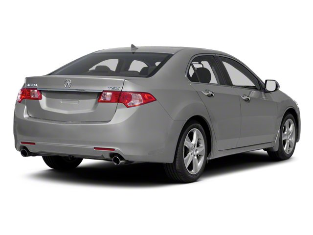 2011 Acura TSX Prices and Values Sedan 4D side rear view