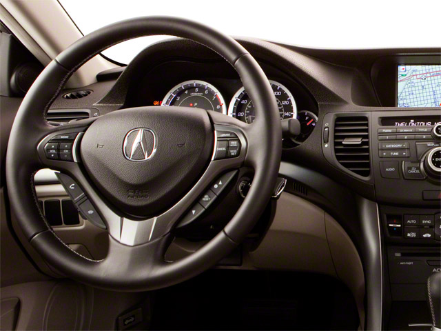 2011 Acura TSX Prices and Values Sedan 4D driver's dashboard