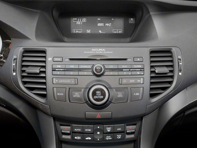 2011 Acura TSX Pictures TSX Sedan 4D photos stereo system