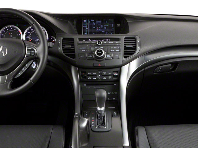2011 Acura TSX Sport Wagon Prices and Values Wagon 4D Technology center dashboard