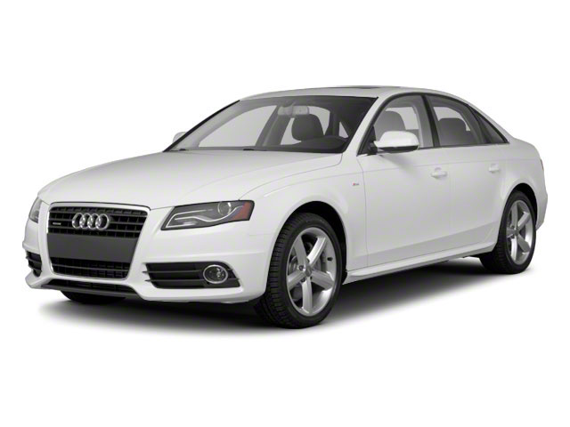 2011 Audi A4 Prices and Values Sedan 4D 2.0T Quattro Prestige side front view
