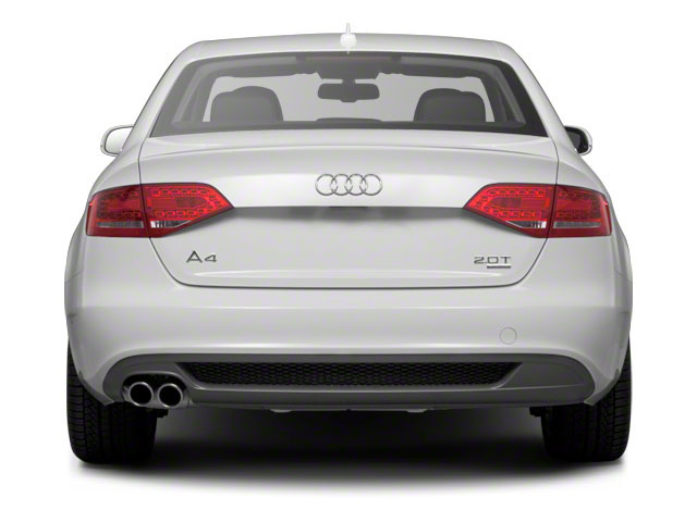 2011 Audi A4 Prices and Values Sedan 4D 2.0T rear view