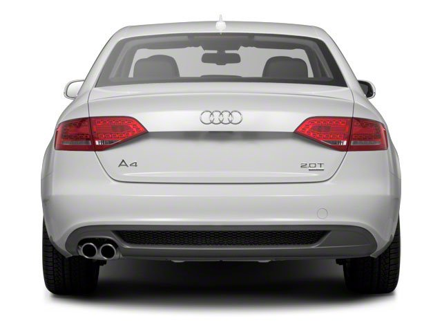 2011 Audi A4 Pictures A4 Sedan 4D 2.0T Quattro photos rear view