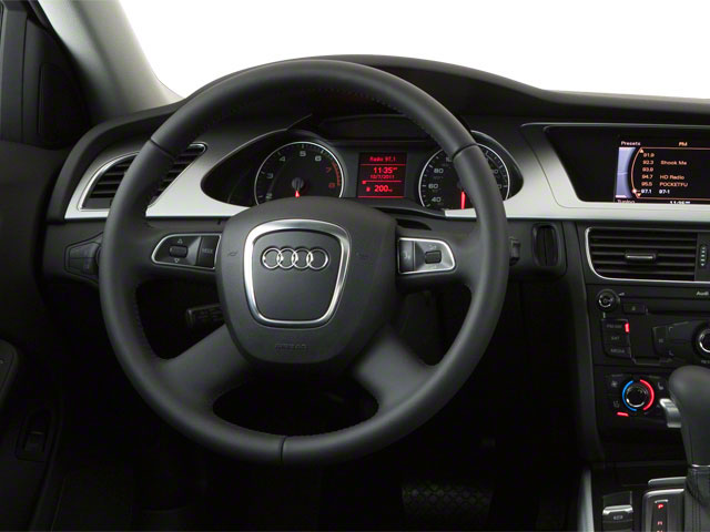 2011 Audi A4 Prices and Values Sedan 4D 2.0T driver's dashboard