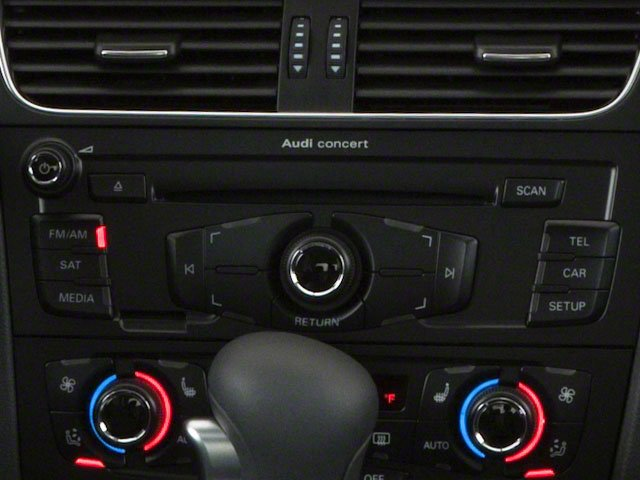 2011 Audi A4 Pictures A4 Sedan 4D 2.0T Quattro photos stereo system