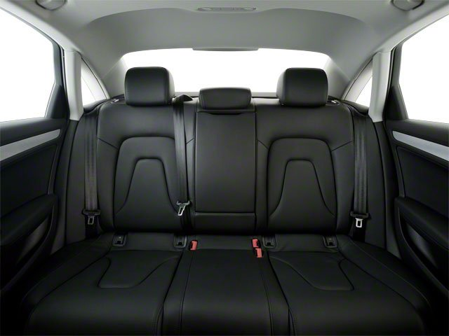 2011 Audi A4 Prices and Values Sedan 4D 2.0T backseat interior