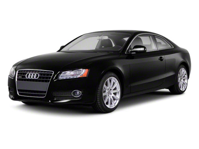 2011 Audi A5 Prices and Values Coupe 2D Quattro Prestige side front view