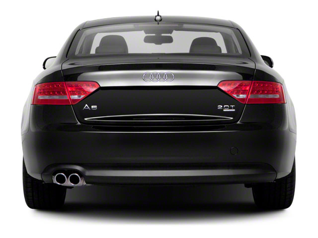 2011 Audi A5 Prices and Values Coupe 2D Quattro Prestige rear view