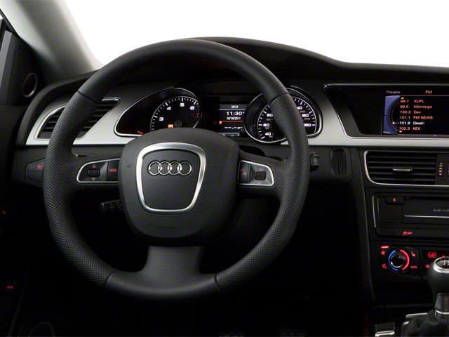 2011 Audi A5 Prices and Values Coupe 2D Quattro Prestige driver's dashboard