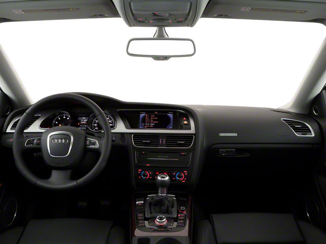 2011 Audi A5 Prices and Values Coupe 2D Quattro Prestige full dashboard