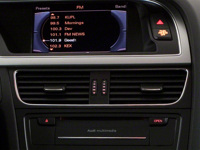2011 Audi A5 Prices and Values Coupe 2D Quattro Prestige stereo system