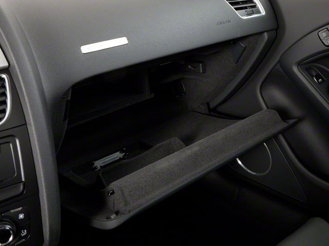 2011 Audi A5 Prices and Values Coupe 2D Quattro Prestige glove box