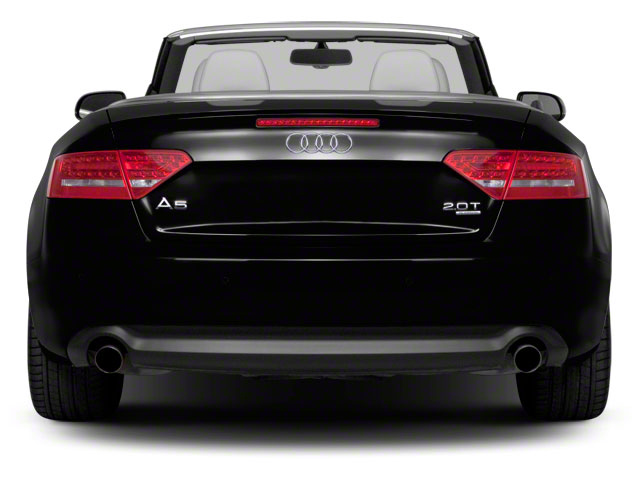 2011 Audi A5 Pictures A5 Convertible 2D Prestige photos rear view