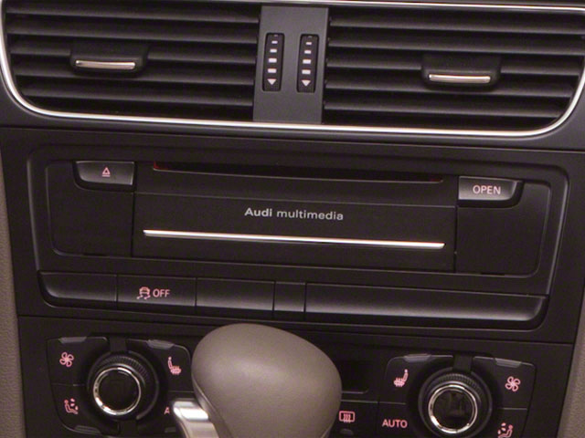 2011 Audi A5 Prices and Values Convertible 2D Prestige stereo system