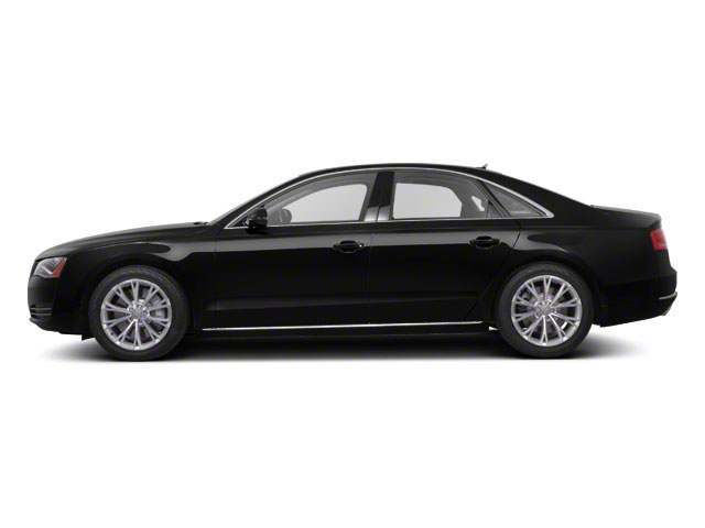 2011 Audi A8 Prices and Values Sedan 4D 4.2 Quattro side view
