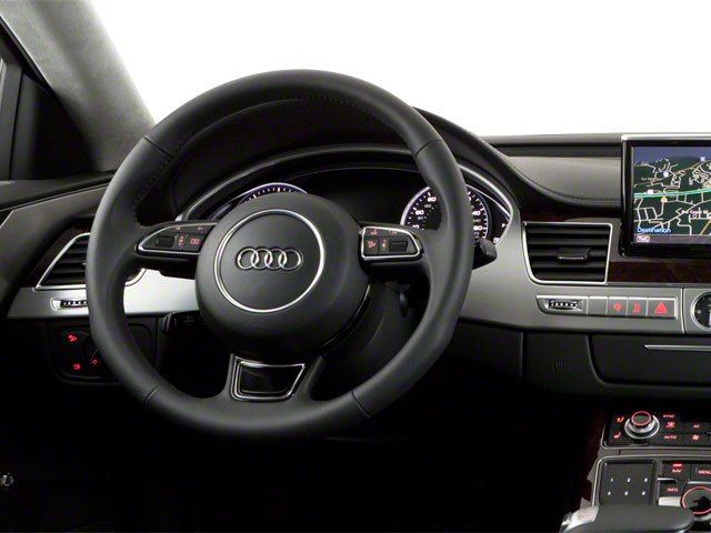2011 Audi A8 Prices and Values Sedan 4D 4.2 Quattro driver's dashboard