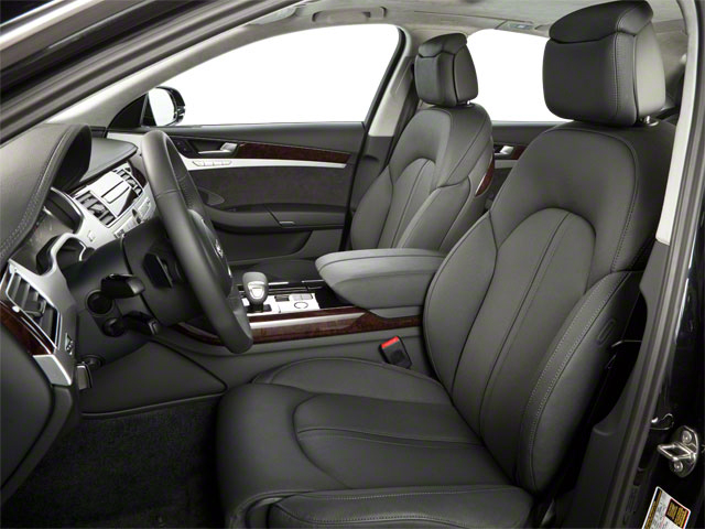 2011 Audi A8 Prices and Values Sedan 4D 4.2 Quattro front seat interior