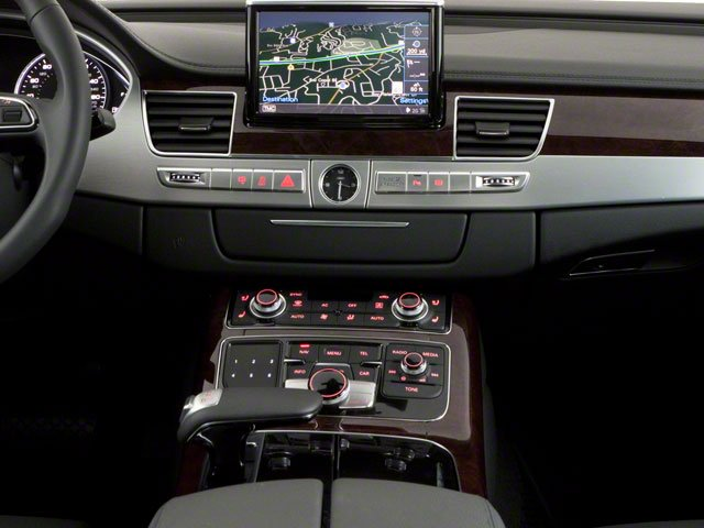 2011 Audi A8 Prices and Values Sedan 4D 4.2 Quattro center console