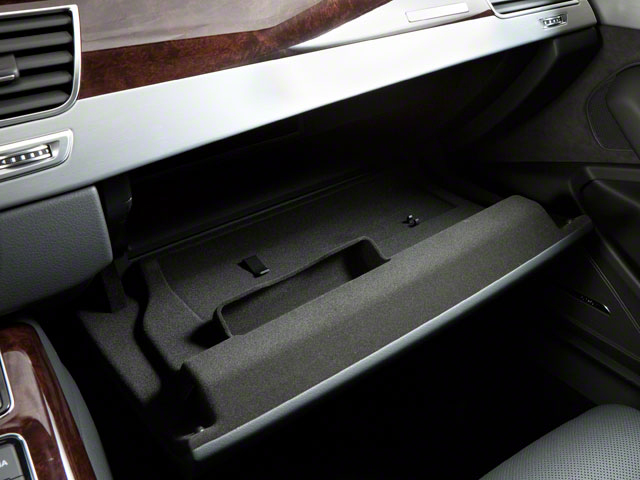 2011 Audi A8 Prices and Values Sedan 4D 4.2 Quattro glove box