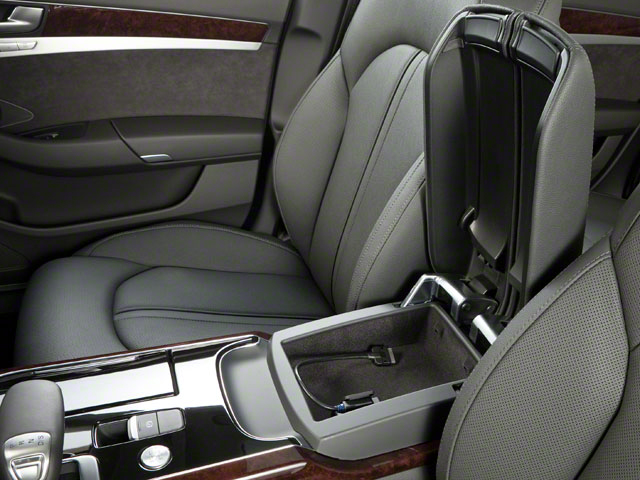2011 Audi A8 Prices and Values Sedan 4D 4.2 Quattro center storage console
