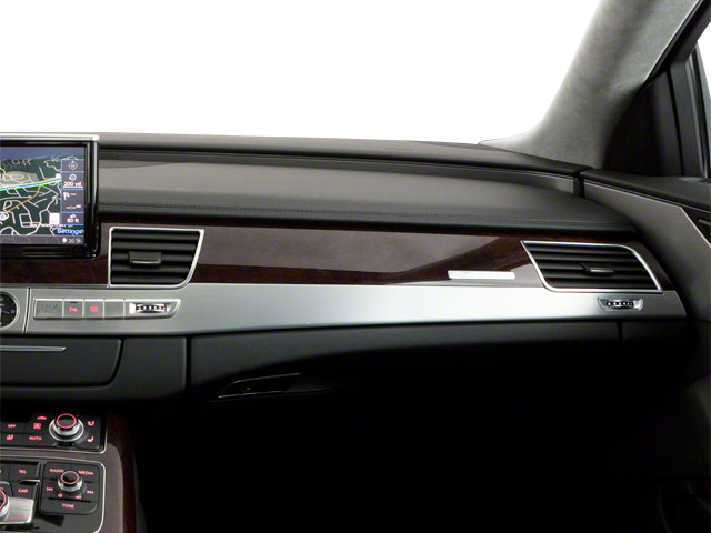 2011 Audi A8 Prices and Values Sedan 4D 4.2 Quattro passenger's dashboard
