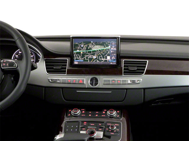 2011 Audi A8 Prices and Values Sedan 4D 4.2 Quattro center dashboard