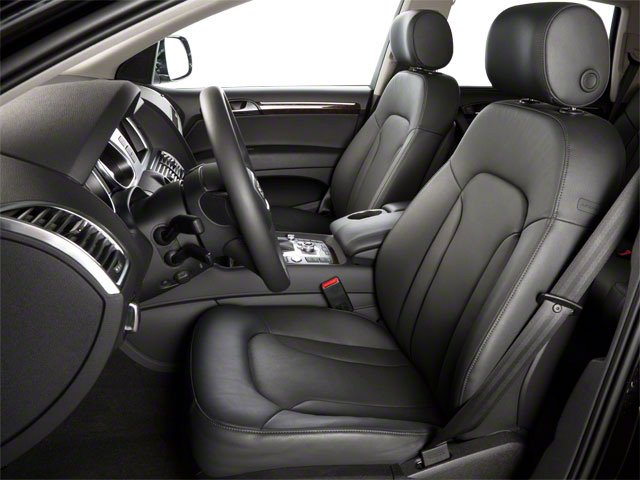 2011 Audi Q7 Prices and Values Utility 4D 3.0 Premium Plus AWD front seat interior