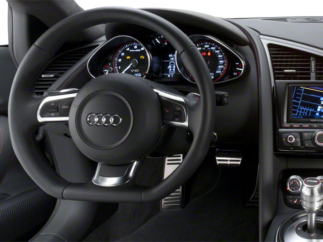 2011 Audi R8 Prices and Values 2 Door Coupe Quattro 5.2L(Manual) driver's dashboard