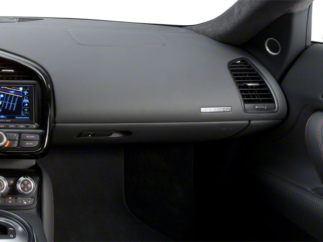 2011 Audi R8 Prices and Values 2 Door Coupe Quattro 5.2L(Manual) passenger's dashboard
