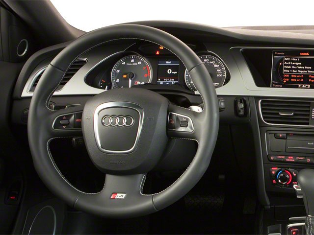 2011 Audi S4 Prices and Values Sedan 4D Quattro Prestige driver's dashboard