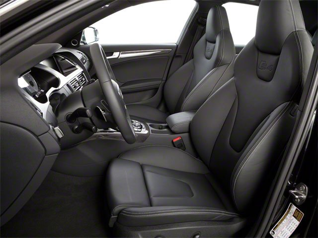 2011 Audi S4 Prices and Values Sedan 4D Quattro Prestige front seat interior