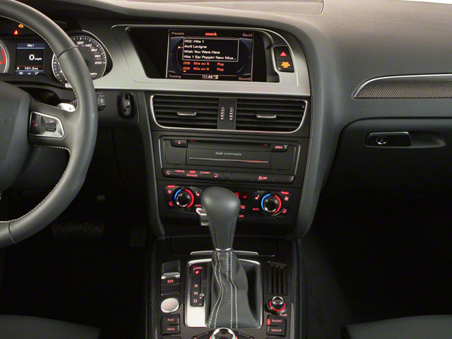 2011 Audi S4 Prices and Values Sedan 4D Quattro Prestige center console