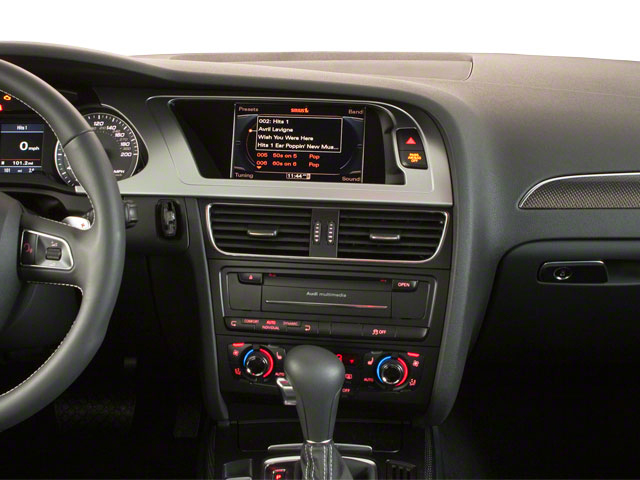 2011 Audi S4 Prices and Values Sedan 4D Quattro Prestige center dashboard