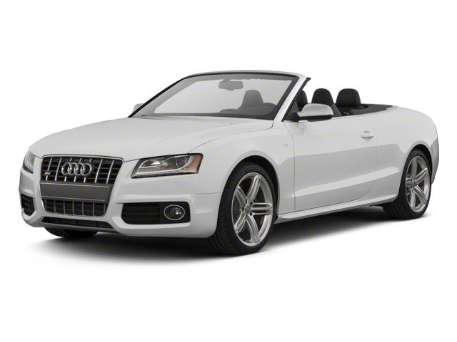 2011 Audi S5 Prices and Values Convertible 2D Quattro Prestige side front view