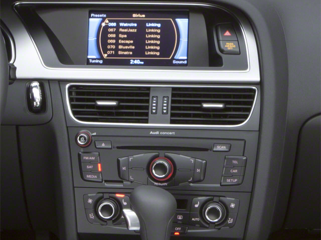 2011 Audi S5 Prices and Values Convertible 2D Quattro Prestige stereo system