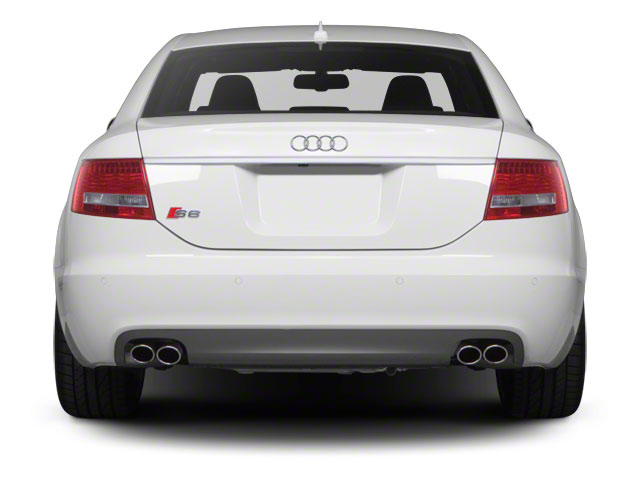 2011 Audi S6 Prices and Values Sedan 4D Quattro rear view