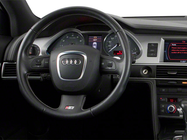 2011 Audi S6 Prices and Values Sedan 4D Quattro driver's dashboard
