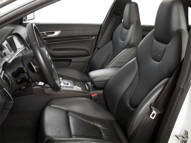 2011 Audi S6 Prices and Values Sedan 4D Quattro front seat interior