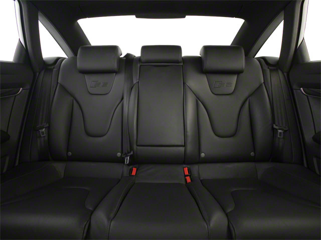 2011 Audi S6 Prices and Values Sedan 4D Quattro backseat interior