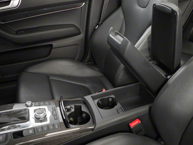 2011 Audi S6 Prices and Values Sedan 4D Quattro center storage console
