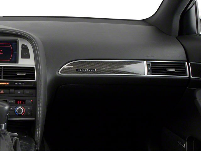 2011 Audi S6 Prices and Values Sedan 4D Quattro passenger's dashboard