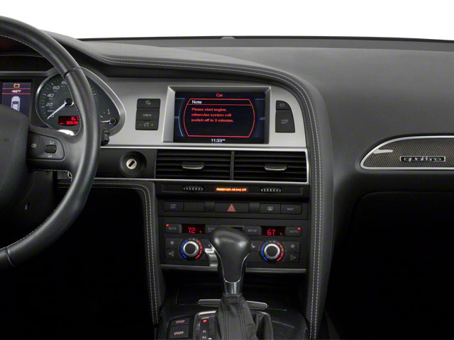 2011 Audi S6 Prices and Values Sedan 4D Quattro center dashboard