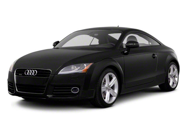 2011 Audi TT Prices and Values Coupe 2D Quattro Prestige side front view
