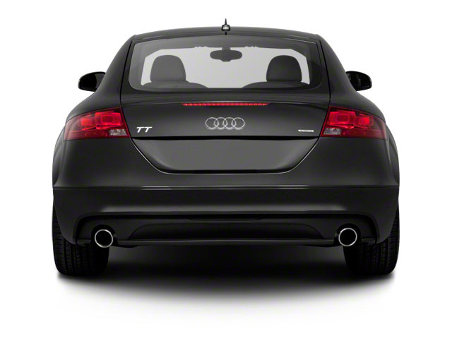 2011 Audi TT Prices and Values Coupe 2D Quattro Prestige rear view